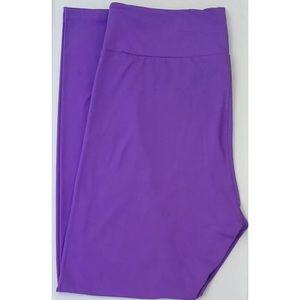 LuLaRoe Pants - 💜 LuLaRoe Neon Purple Leggings TC 💜 🦄